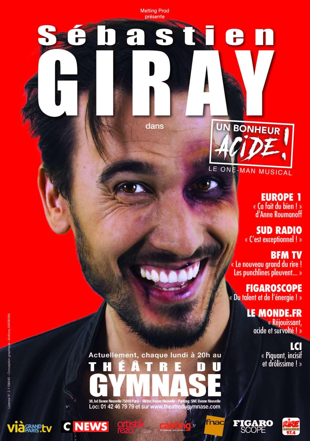 Ne manquez pas ce spectacle ébouriffant et drôle qui tourne en région parisienne et en province!