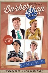 Revoilà le sympathique groupe bordelais de quatre chanteurs déjantés et talentueux!