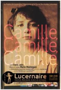 Camille Claudel marche sur son destin, un destin sculpt� sur le bronze de l'amour-passion pour son maitre d'atelier, Auguste Rodin.
