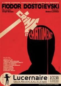Virgil Tanase propose au Lucernaire une version tr�s personnelle de <i>Crime et Ch�timent</i> de Fiedor Dosto�evski.