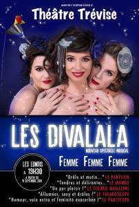 Trois divas esseulées racontent en chansons et tubes français leurs parcours amoureux et leurs reflexions sur la vie.