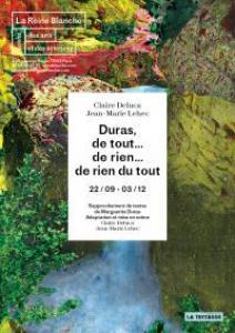 Marguerite Duras comme, peut-�tre, vous ne la connaissez pas�: fantasque, dr�le, absurde, un peu inqui�tante...