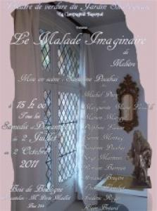 La th troth spectacle le malade imaginaire - Theatre de verdure du jardin shakespeare pre catelan ...