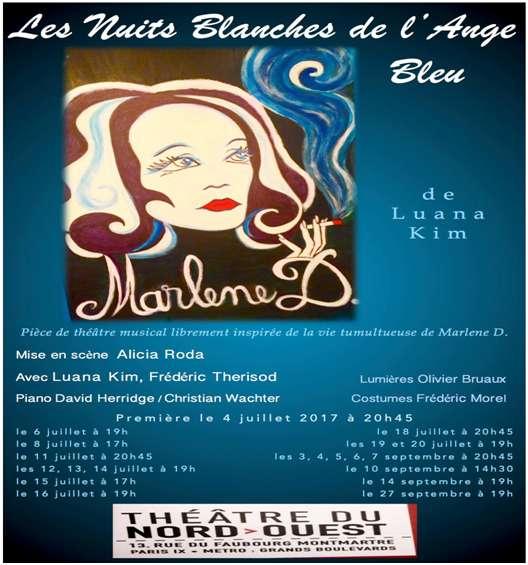 Un spectacle émouvant, basé sur la mémoire, la nostalgie d'une époque, la figure d'une Marlène Dietrich jouant à merveille les Mère Courage...