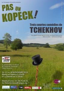 Trois petites com�dies r�guli�rement repr�sent�es de Tchekhov�: <i>Une Demande en mariage</i>, <i>Les M�faits du tabac</i> et <i>L'Ours</i>.