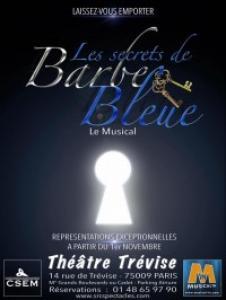 Barbe bleue, le conte de Charles Perrault revisité dans une version comédie musicale fraîche et délicieusement cruelle.