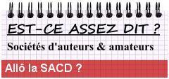 Allô la SACD ?