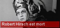 Robert Hirsh est mort