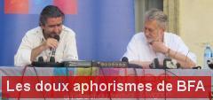 Les aphorismes de Bernard Faivre-d'Arcier