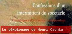 Le témoignage d'Henri Cachia, intermittent du spectacle