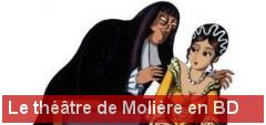 Le th��tre de Moli�re en BD